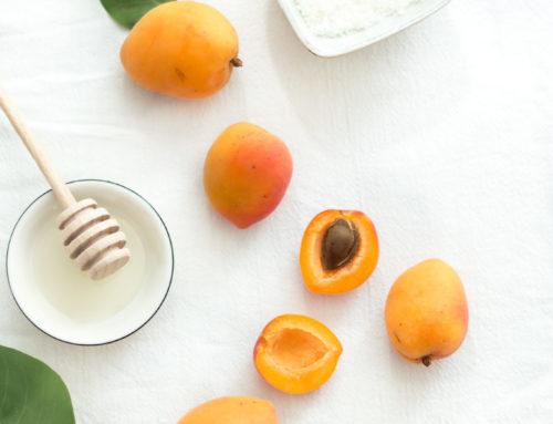 Letná kokosovo-marhuľová galetka
