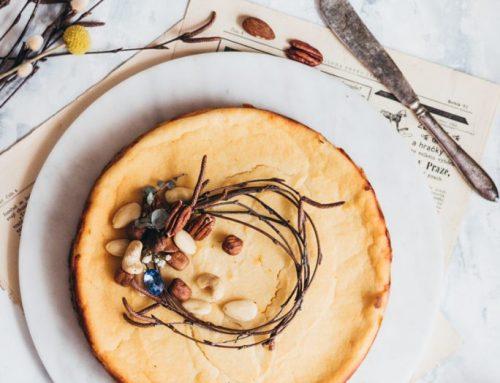 Tvarohový koláč babky Zlatky